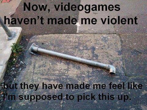 MEME - violence in video games